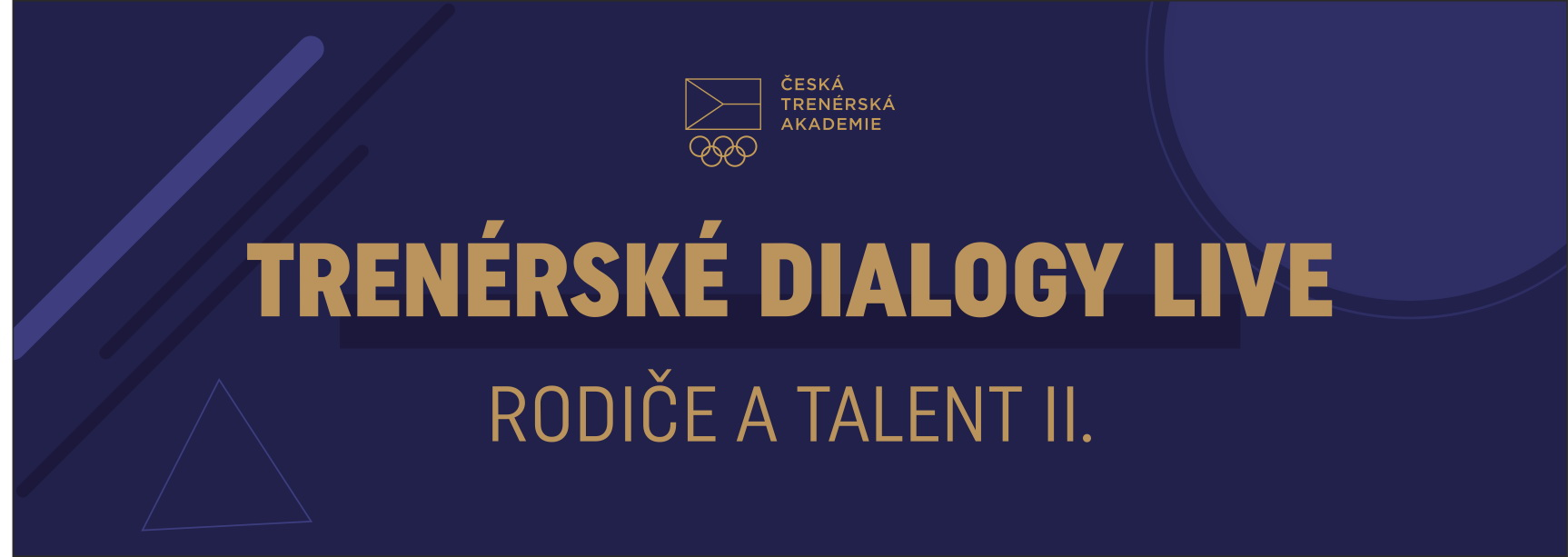Dialogy on-line: Rodiče a talent II. (4. 6. 2020)
