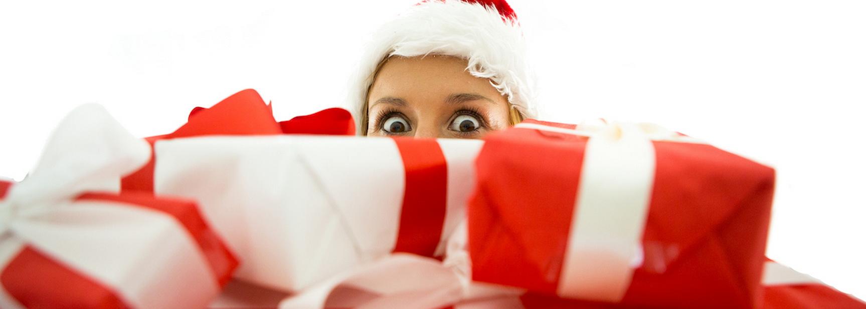První vánoční dárky